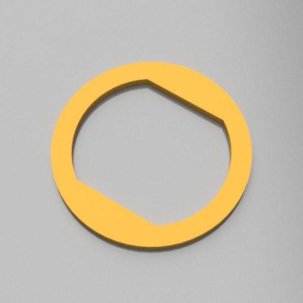 丸ノコ内径変更スペーサー 16mmを → 20mmに(3Dプリント製- 材質PLA)