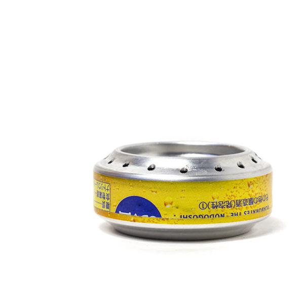 インターン江坂くんのアルミ缶ストーブ